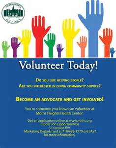 volunteer opportunities morris heights health center