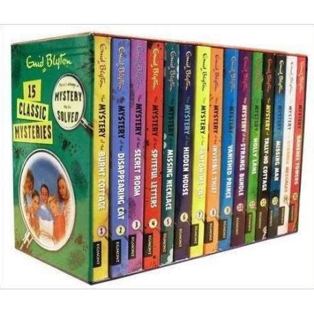 Classic Stories Of Mystery enid blyton classic mystery stories set pack collection