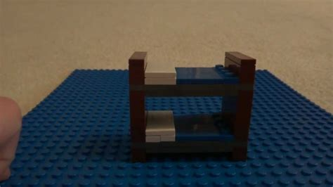 how to build a lego bunk bed youtube
