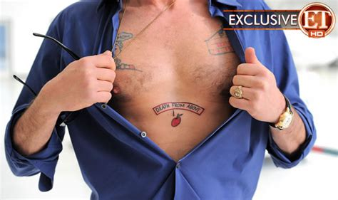 charlie sheen tattoos sheen pics photos pictures of his tattoos
