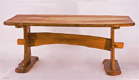Handmade Picnic Table - rustic handmade picnic style dining table by kwetu