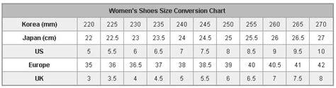asian shoe size korean shoes size guide style guru fashion glitz