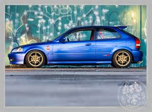 98 honda civic quot jdm ek quot featured in import racer and on