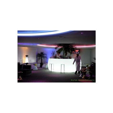 comptoir de bar lumineux pour salon barra easy