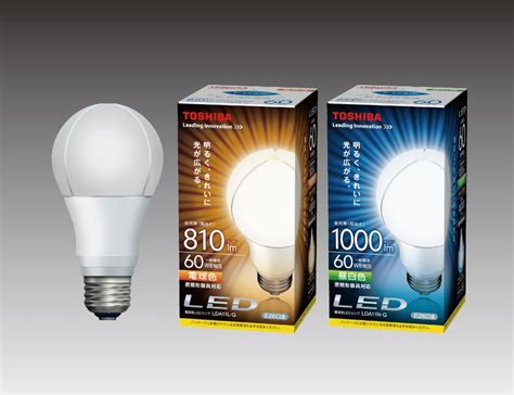 daylight bulb color toshiba develops new heat dissipation structure for led