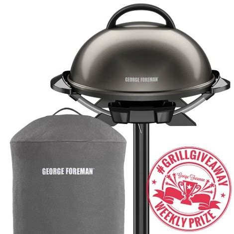 Grill Giveaway 2017 - free george foreman grill giveaway
