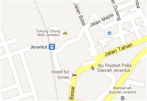 Ktm Intercity Map Jerantut Railway Station Mrt My
