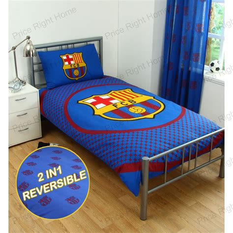 barcelona bedroom barcelona bedding and bedroom accessories boys football new