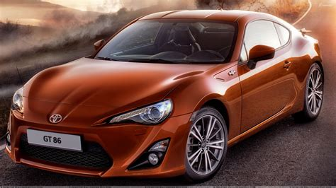 toyota gt86 front pose 2012 toyota gt 86 in orange wallpaper