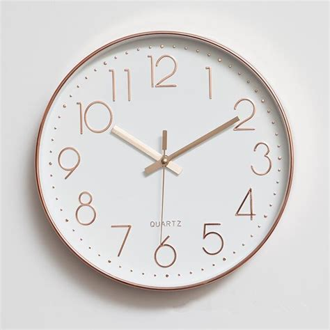 themes and clock bq2876 modern minimalist clock themes quartz mute clock