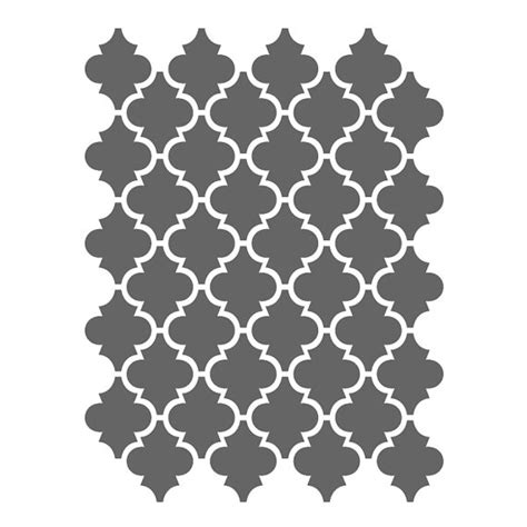 moroccan tile template moroccan stencils template for crafting canvas diy decor