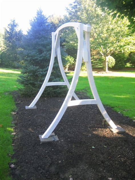 unique outdoor swings unique back yard swing frame outdoor projects