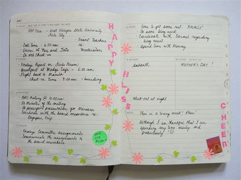 decorative paper national bookstore planner chronicles may 2015 cheerful journey