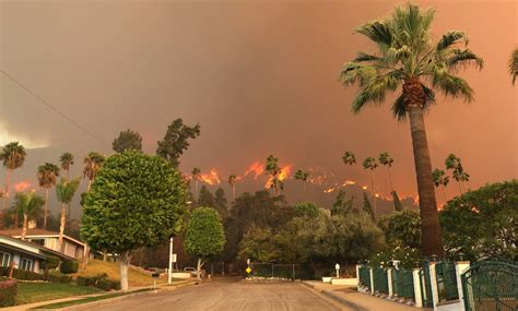 Los Angeles Burning a scary wildfire is burning outside los angeles gizmodo