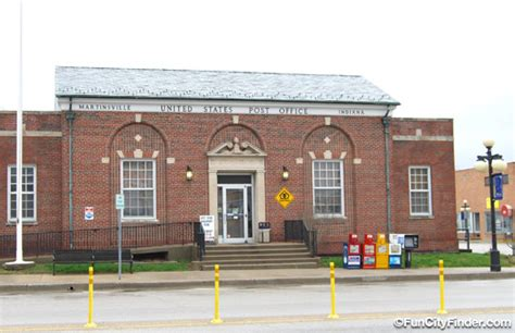 Post Office Downtown Indianapolis by Martinsville Post Office Photos And Pictures Funcityfinder