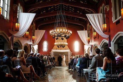 rustic wedding venues near canton ohio wedding ceremony at glenmoor country club wedding ceremony decor