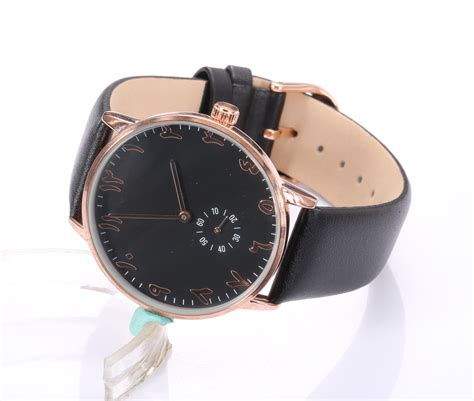 aliexpress buy black pink gold chrono