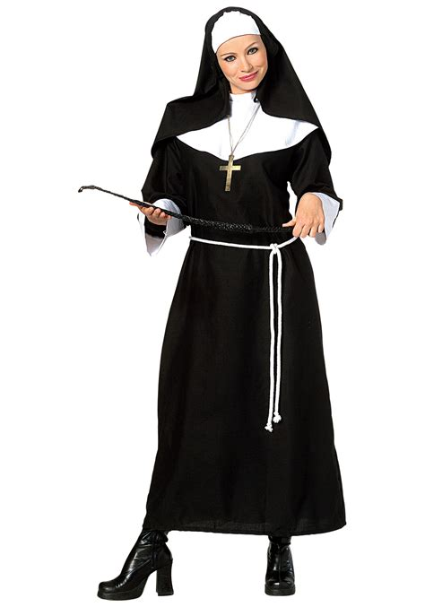 halloween costumes adult classic nun costume