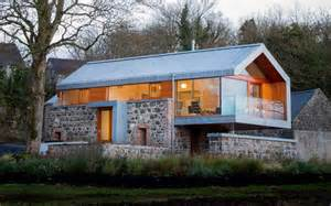 Modern A Frame House Plans renoviertes haus in kombination mit einer scheune