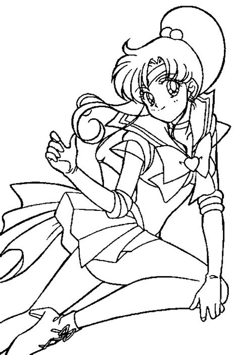 super sailor jupiter coloring page 2 by sailortwilight on