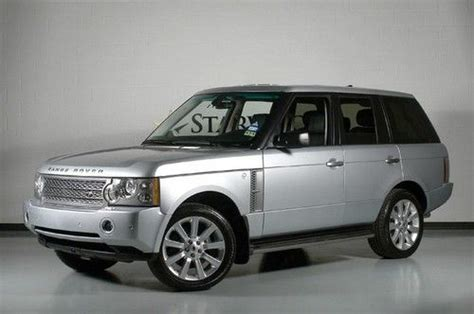 how to sell used cars 2008 land rover range rover windshield wipe control sell used 2008 range rover hse supercharged rear dvd 20in wheels back up camera in dallas texas