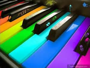 color piano instrument piano color