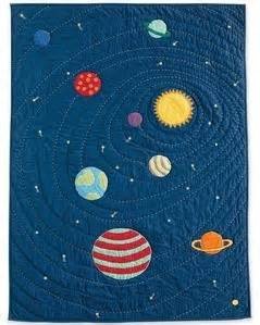 Solar System Quilt by Of Sewing Encouraging Sewing In Canterbury