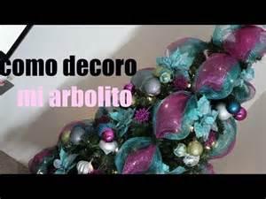 decoraciones navide 241 as quot mi arbol de navidad quot youtube
