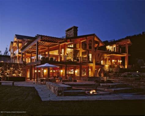 log home mansions colorado lucky break pinterest alaska cabin and log cabins