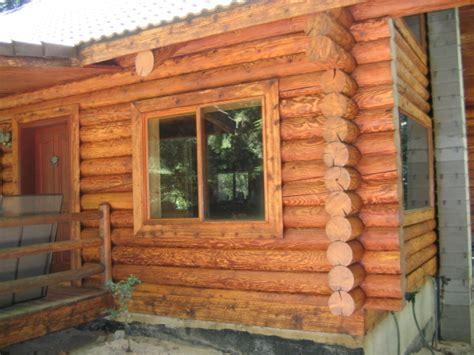 choosing   log home stain