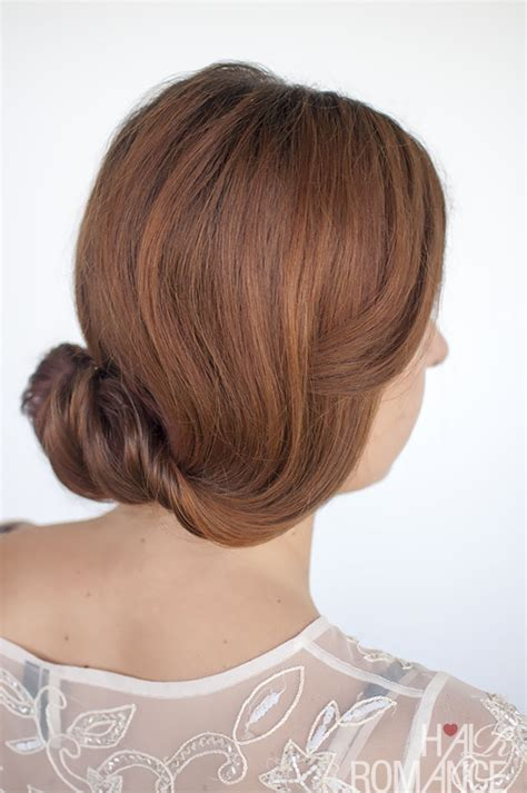 hairstyles rolled hair rolled chignon hairstyle tutorial hair romance