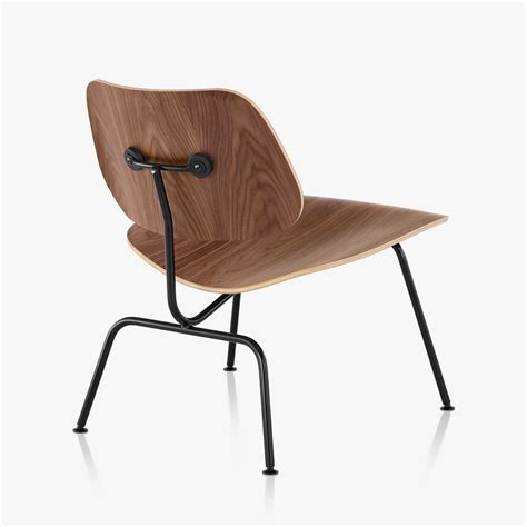 Eames Plywood Chair by Eames Molded Plywood Lounge Chair With Metal Base By