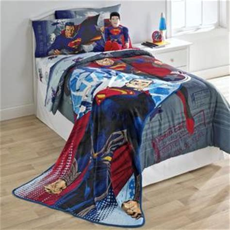 Superman Bedding by Dc Comics Superman Of Steel Sheet Set Home