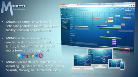 room scheduling software free midas web based room booking resource scheduling software features