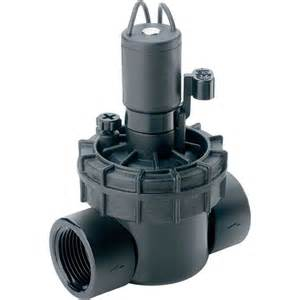 Pvc Patio Furniture Parts by Shop Toro 1 In Plastic Electric Inline Irrigation Valve At