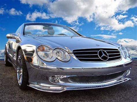 Chrom Lackieren Kosten by Mercedes Sl600 Chrome Benzinsider A Mercedes Benz