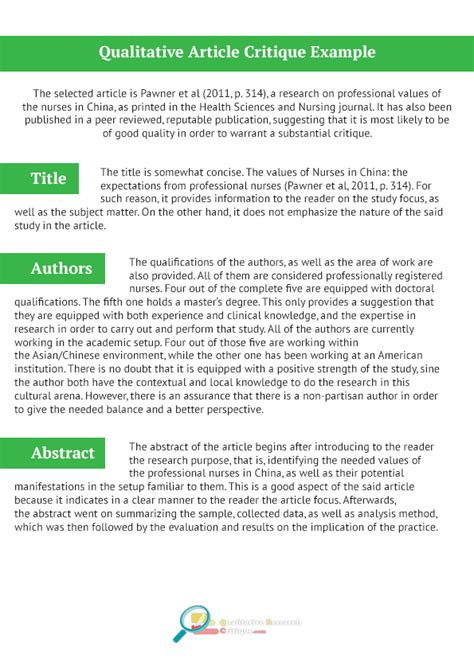 qualitative research guide template our qualitative research critique exle qualitative