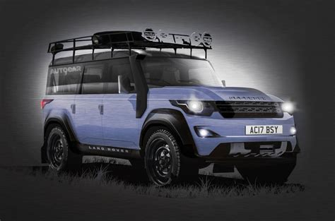 New Land Rover Defender 2018 by All New Land Rover Defender Lahir Kembali Tahun 2018