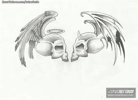 imagenes de calaveras con alas dise 241 o de alas calaveras
