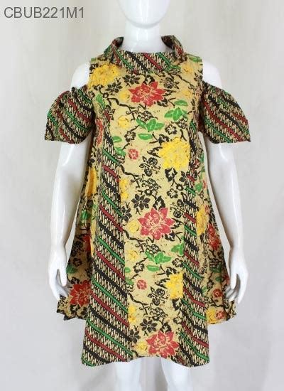 Tunik Parang Berasan Tunik Batik dress tunik nesya kembang parang dress murah batikunik