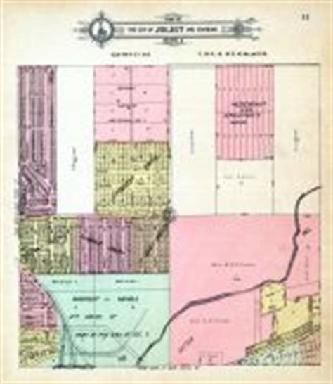 joliet section 8 will county 1909 to 1910 illinois historical atlas