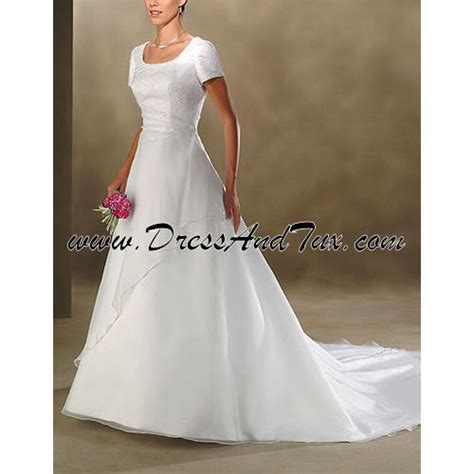 Dress D27 by Sheer Wrap Modest Wedding Dress Orchis D27 569 00