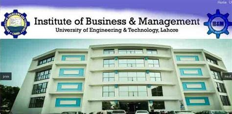 Asian Institute Of Management Mba Tution by Ib M Uet Lahore Admission 2018 Last Date For Bba Mba And Ms