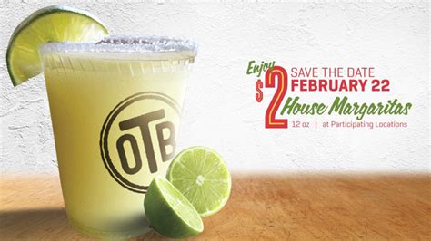 national margarita day on the border offering 2 house margaritas on national