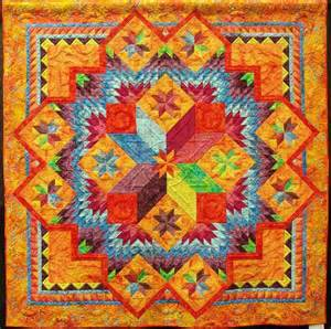 Gails Patchwork - pattern with center medallion or
