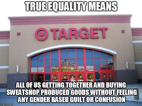 Equality Meme - target for gender equality imgflip