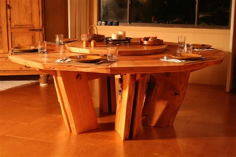 Black Walnut Kitchen Table Custom Solid Slab Sided Dining Table By Beacon Woodwork With Kitchen Tables Black Walnut Table