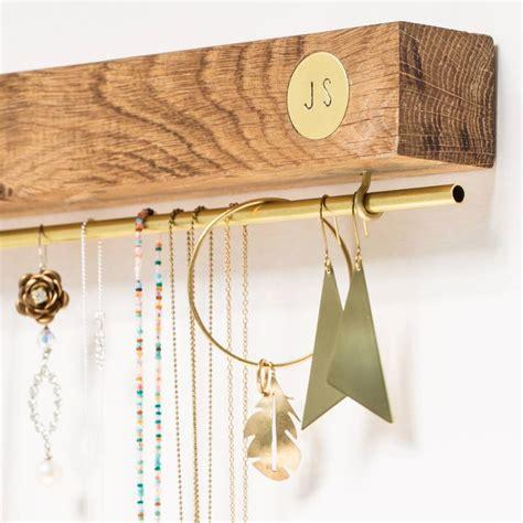 Wood Plank Jewelry Holder