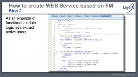sap abap tutorial videos leverx sap abap tutorial creating and calling web services