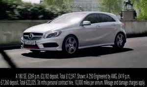 new mercedes a class ad released international